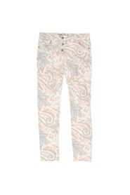 Blue Paisley Pants