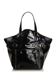Patent Leather Downtown Tote