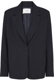 Just Female lily blue pinstripe blazer