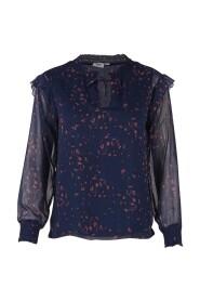 Mørkeblå Saint Tropez bluse