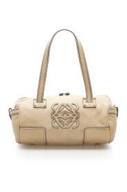 Anagram Leather Shoulder Bag