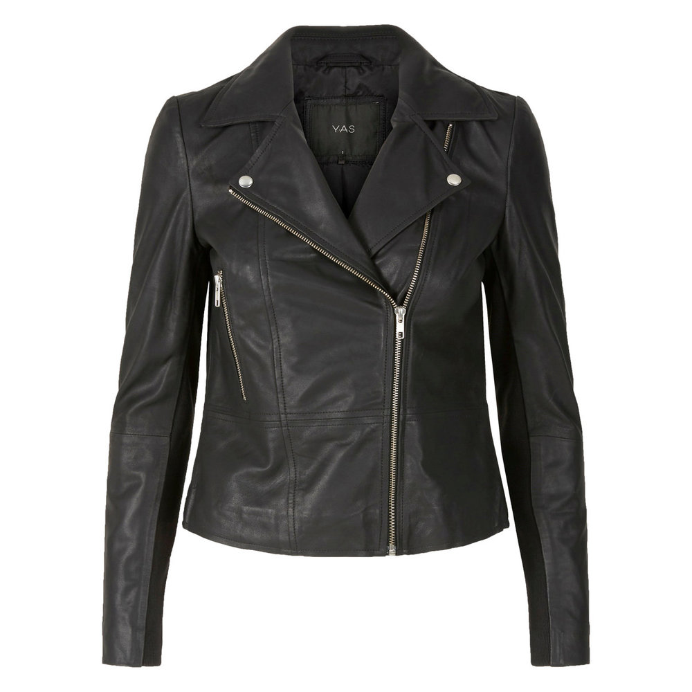 Leather jacket Leather