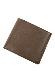 Pre-owned Bifold Square Wallet