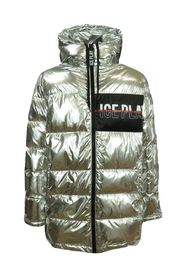 long quilted man quilted jacket
