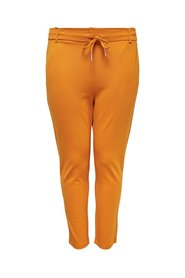 Solid Trousers Curvy