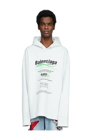 Dry Cleaning Oversized Hooded Sweatshirt