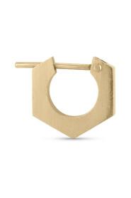 Nut earring, 18-carat gold