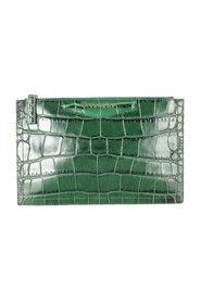 Crocodile Embossed Pouch -Pre Owned Condition Excellent