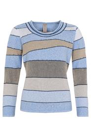 O-Neck Jaquard Effect Jumper Genser