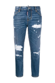 Beach Cool Girl cropped jeans