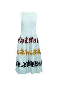 Long Dress with Embroidery