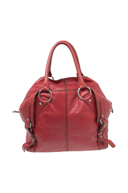 Leather Folded Tote