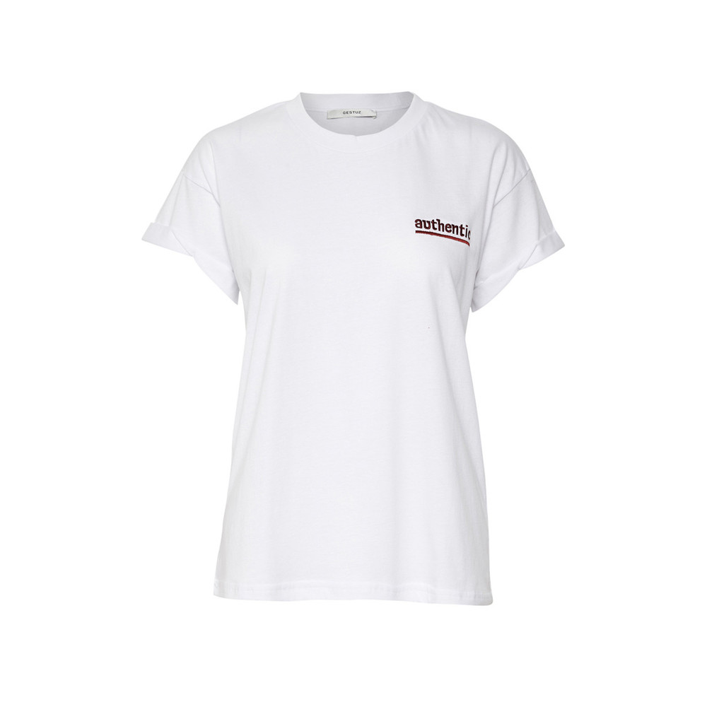GESTUZ AUTHENTIC SS TOP BW