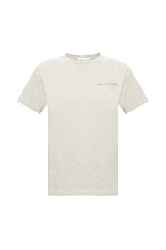 Logo-embroidered T-shirt