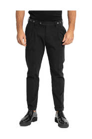 Black Barber Trousers