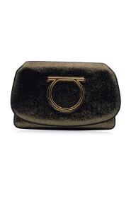 Tone läder Gancino Mint Crossbody väska