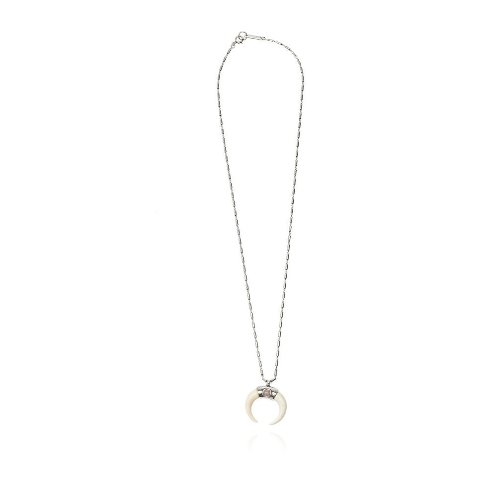 Isabel Marant SILVER Necklace with pendant Isabel Marant