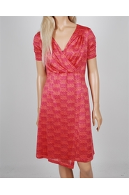 HOLLY PLEATED KNIT DRESS