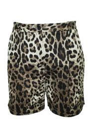 Leopard Print Shorts With Laces -Pre Owned Condition Very Good
