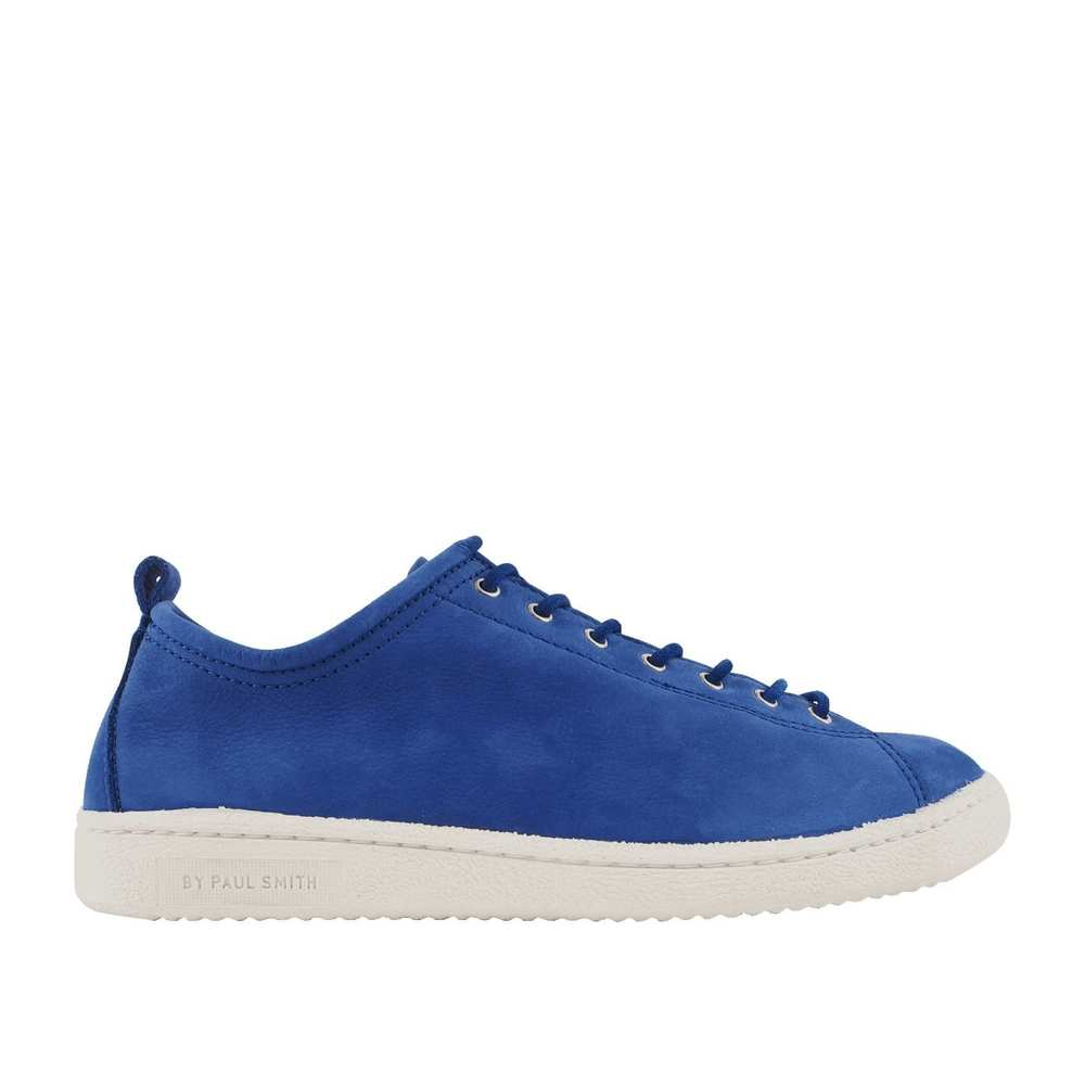 Mænds Blue Nubuck 'Miyata' Trainers