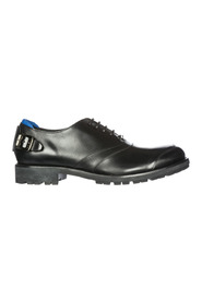 men's classic leather lace up laced formal shoes h240