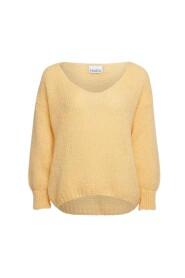 Knit V-Neck Sweater Y