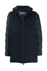 CHAQUETON MIX SOFT SHELL PLUMON IMPERMEABLE