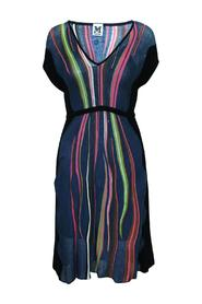 Stripes Dress -Pre Owned Condition Good