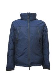 Winter down jacket with hood royale