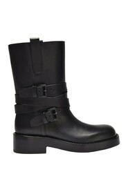 Julian A. Ankle Boots Leather