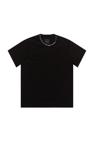 T-shirt with decorative chain