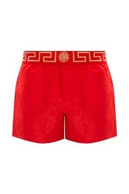 Greca border swim shorts