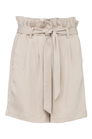 Paperbag waist oversized shorts