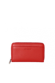 Decadent Esther Medium Zip Wallet Red
