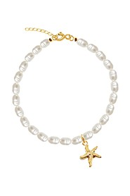 Pearl & Starfish Anklet