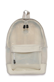 Transparent Small Backpack