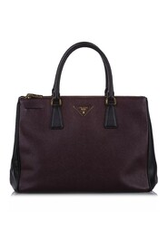 Saffiano Double Zip Galleria Satchel