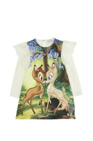 Dress with Bamby Print