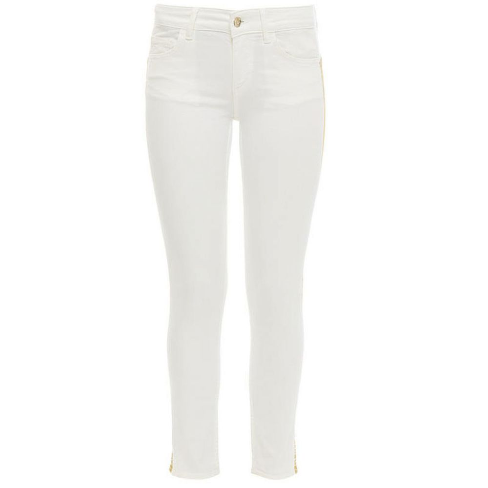 Slim fit broek bottom-up