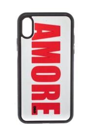 Amore -preget PVC iPhone XR -veske