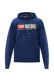 Branded hoodie