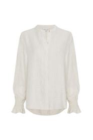 tudio blouse ruffle mouw
