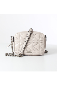 Karl lagerfeld quilted stud camera bag