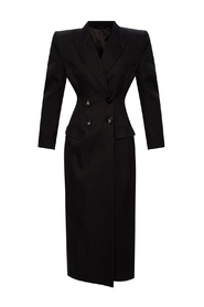 Coat with notch lapels