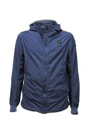 USA men's bomber jacket with contrasting hood