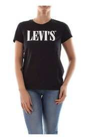 LEVIS 17369 0783 THE PERFECT TEE T SHIRT AND TANK Women CAVIAR