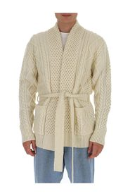 Knot front cardigan