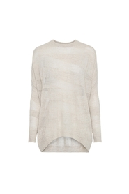 ELSAMARIA TAPED OVERSIZE SWEATER
