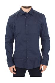 Stretch Cotton Casual Long Sleeve Shirt