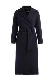 Poldo wool wrap coat
